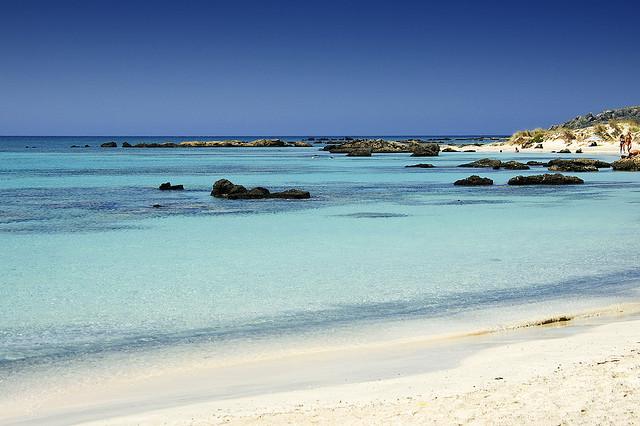 Stranden Elafonisi Beach