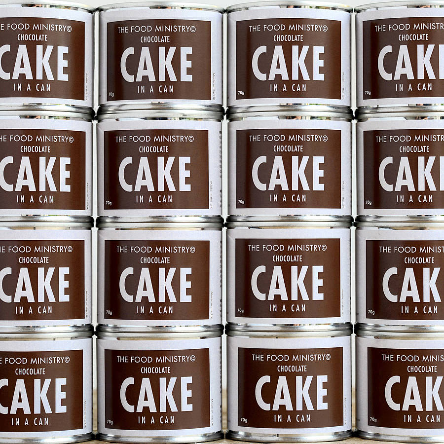 Cake in a Can I