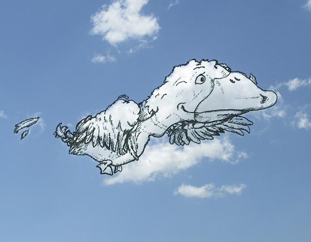 wat betekent in de wolken zijn