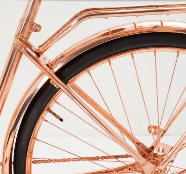 koperen fiets I