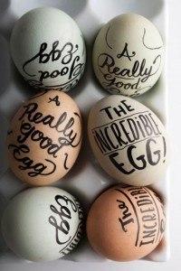 Eieren beschrijven