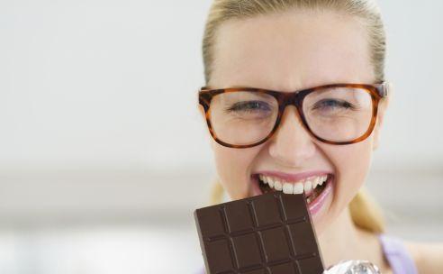 Chocola eten