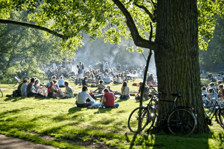 Stadspark Vondelpark Amsterdam