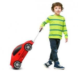Ford Mustang Kinderkoffer