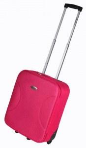 Leonardo bo handbagagekoffer roze
