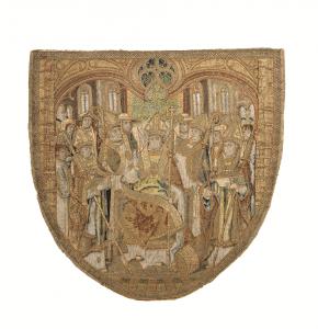 middeleeuwse-borduurkunst-vaandel