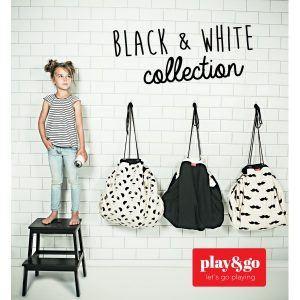 play-go-opbergzak-black-white